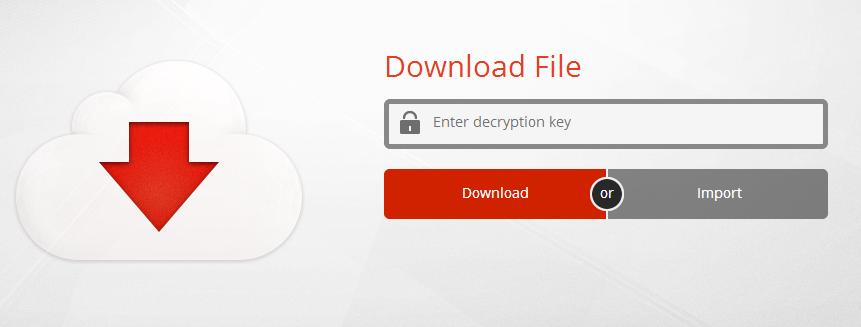 mega 5 - decryption key
