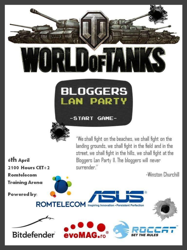 bloggers lanparty
