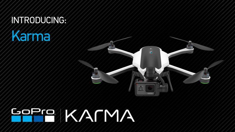 Drona GoPro Karma s-a lansat în sfârșit