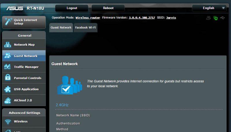 router cu facebook wifi - 1