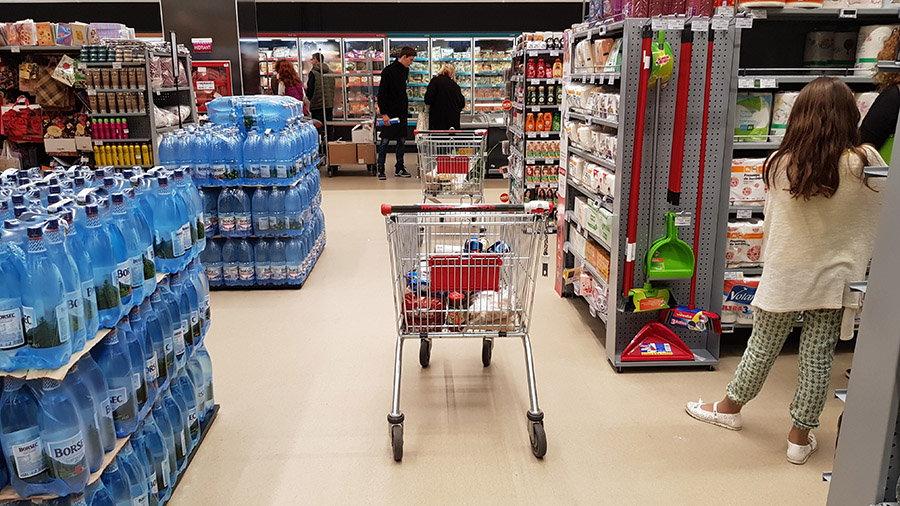mega image supermarket inteligent