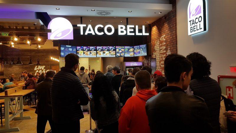 taco bell mega mall