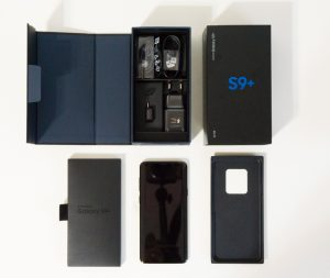 unboxing galaxy s9 plus