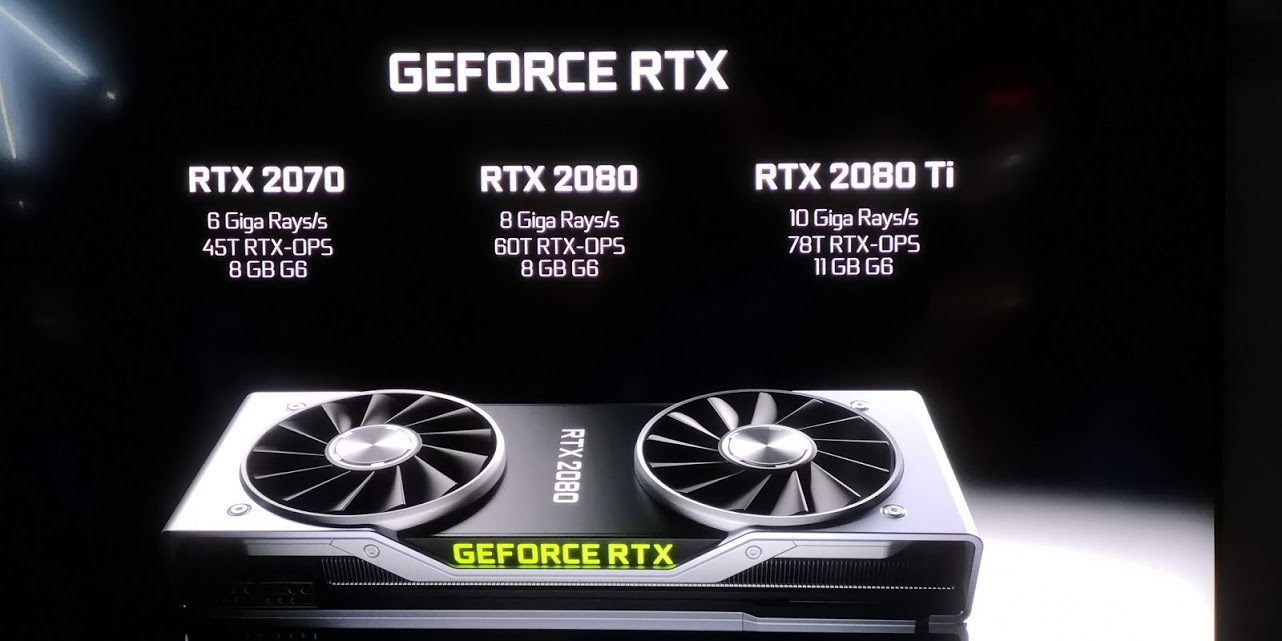 geforce rtx ray tracing