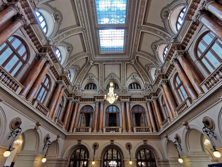 interior Palatul BNR