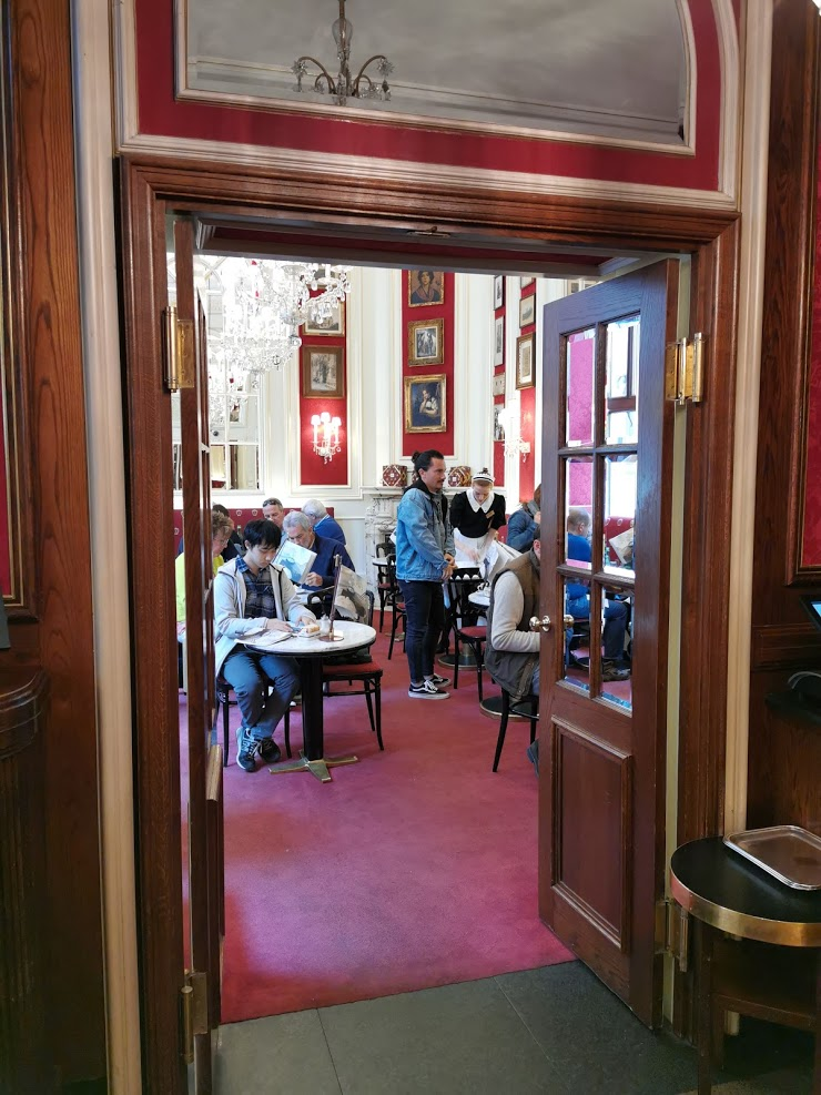 cafe sacher viena