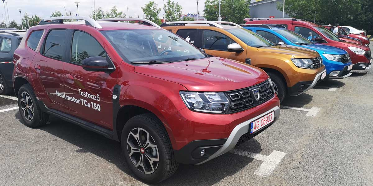 noul duster 2019 150 cp