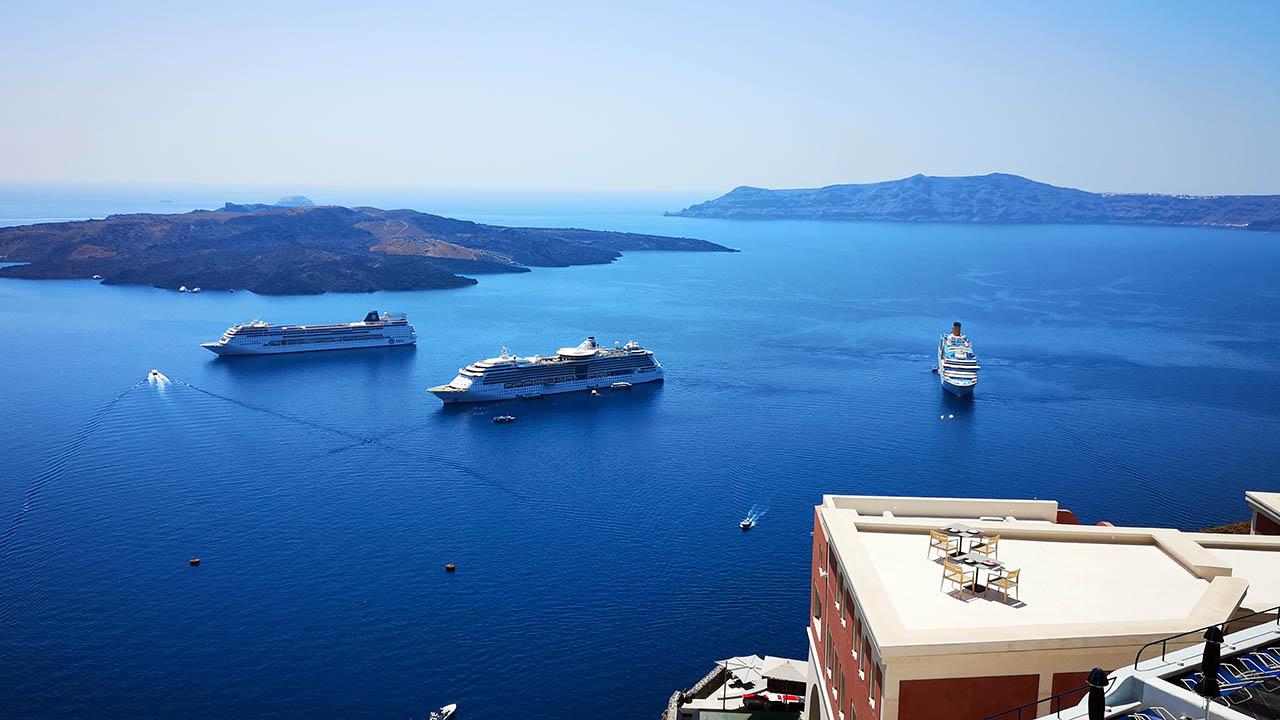 Santorini feribot