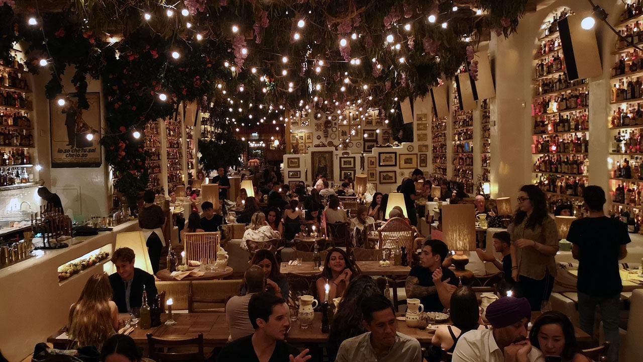 restaurant circolo popolare londra