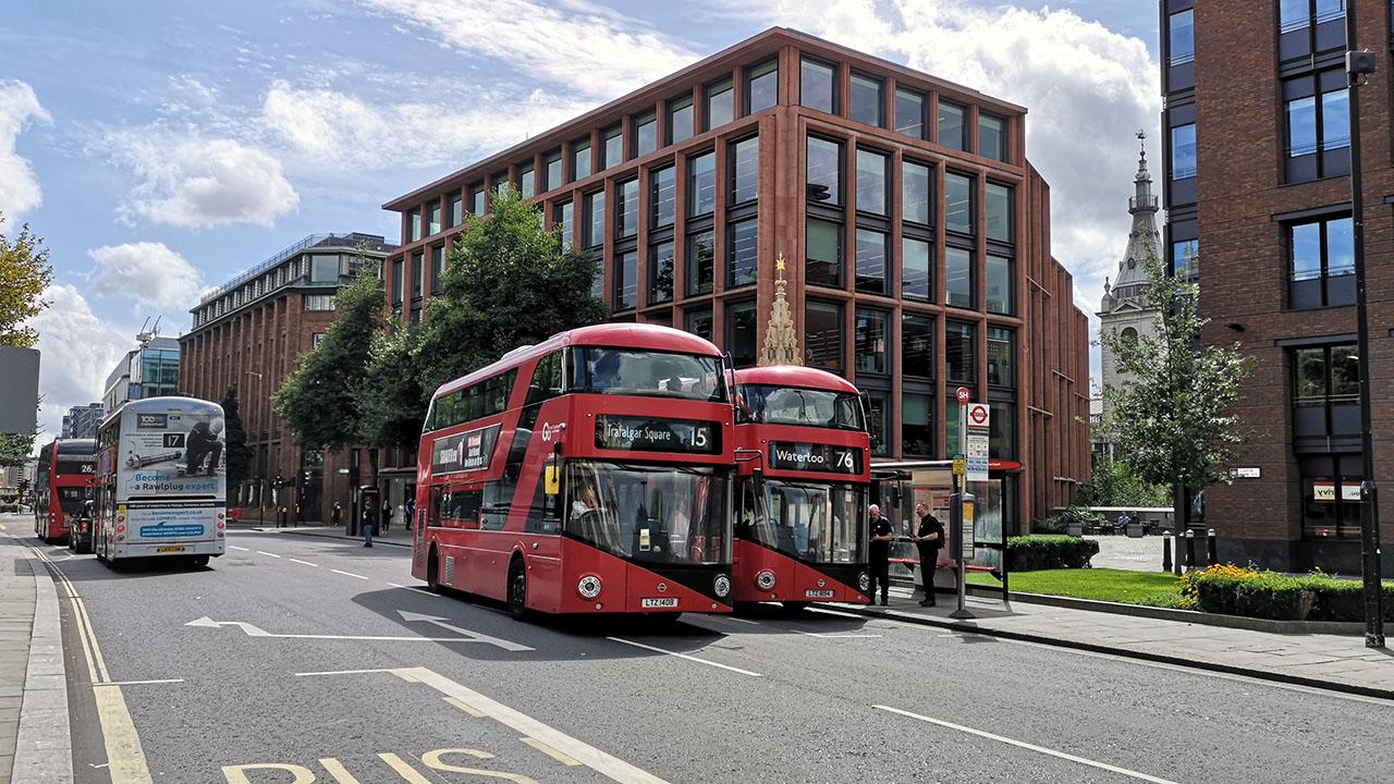 Londra transport în comun