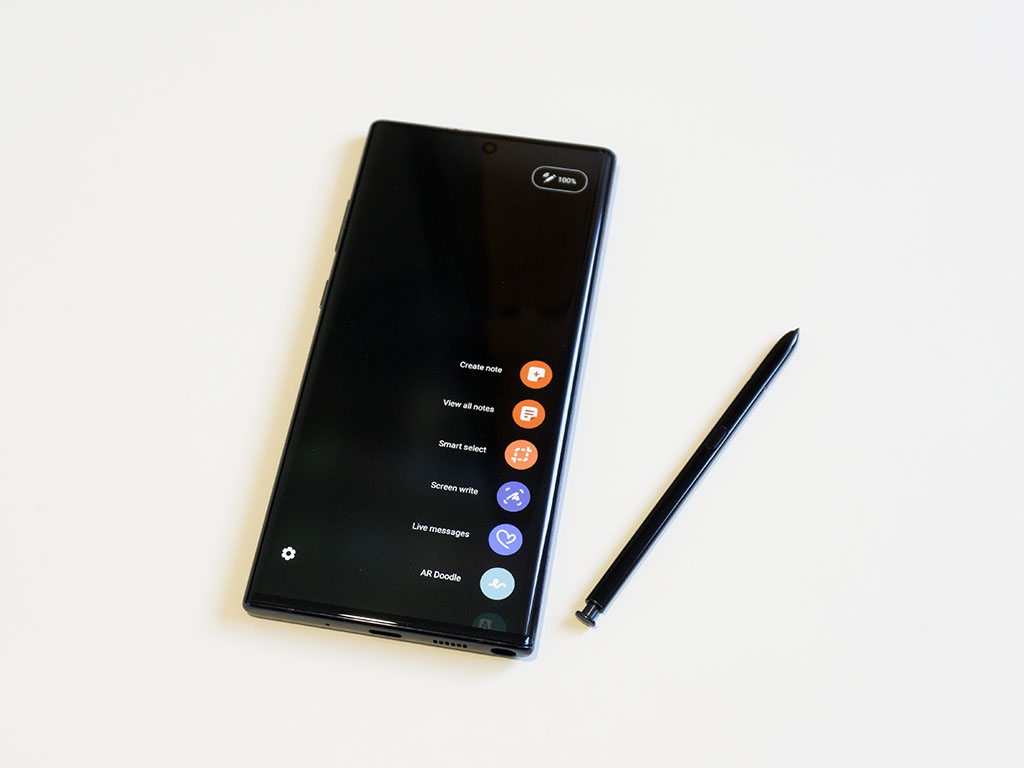 note 10 plus s pen