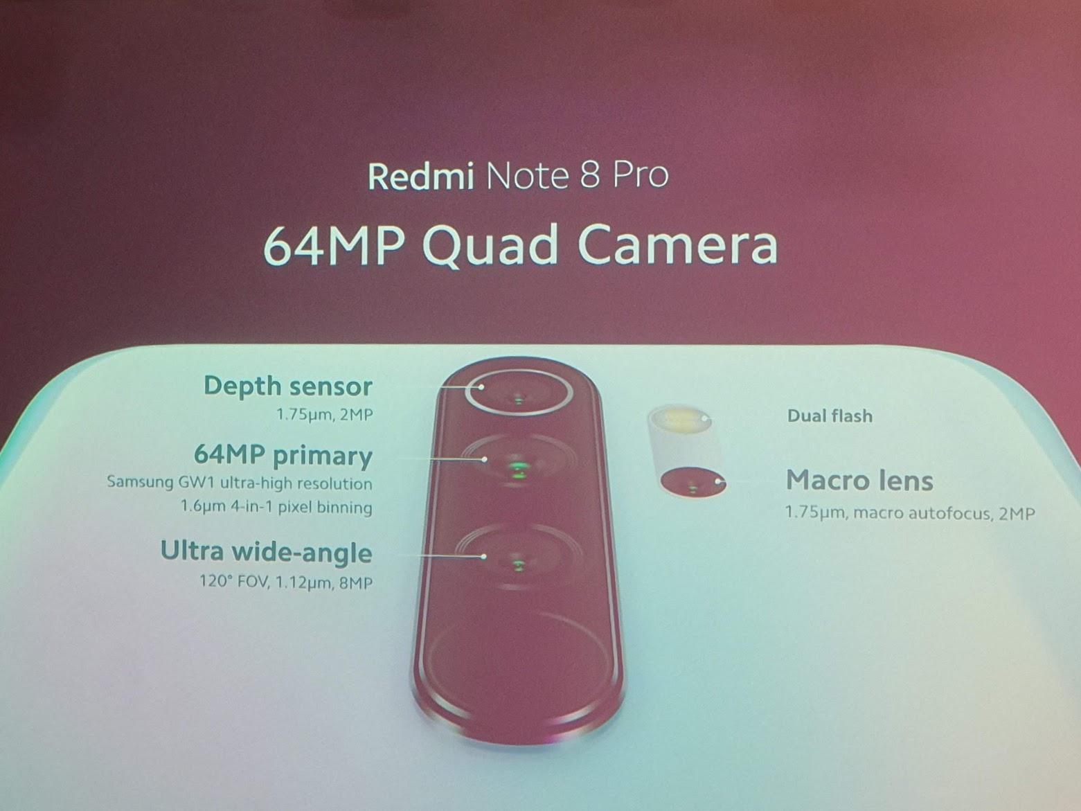 camera redmi note 8 pro