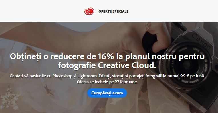 oferta adobe photoshop