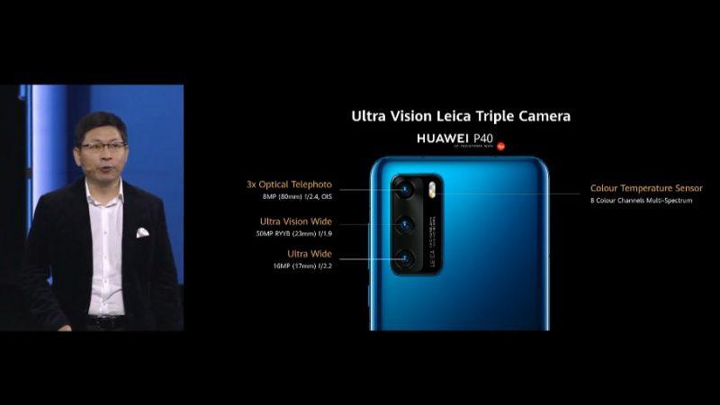 camera huawei p40