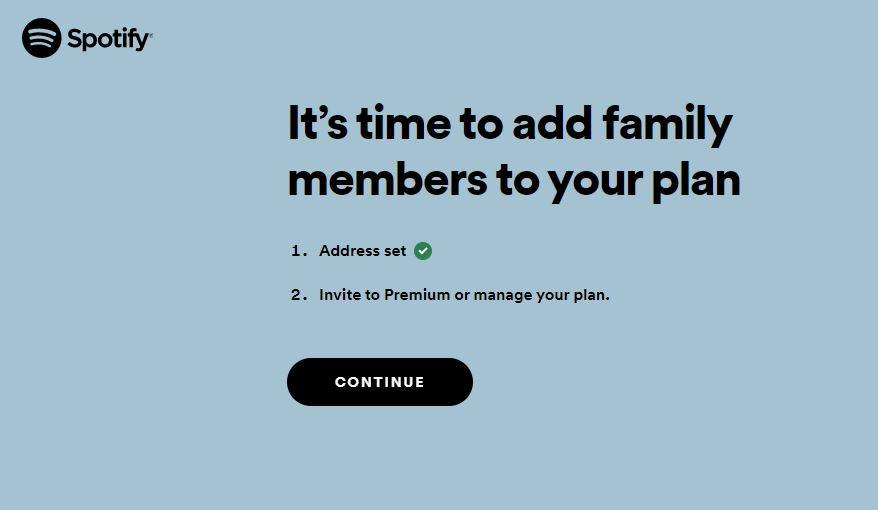 spotify premium familie