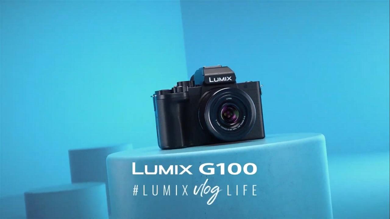 panasonic lumix g100 cameră vlogging