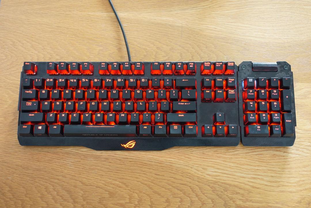 tastatură rog claymore