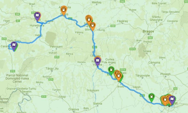 statii încărcare mașini electrice românia