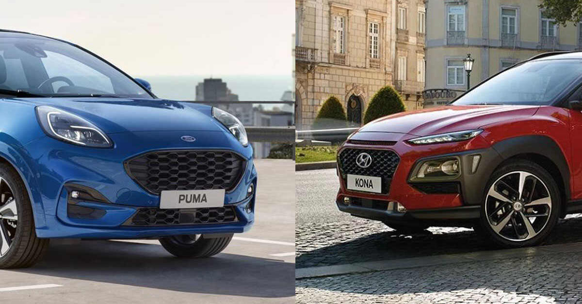ford puma titanium vs hyundai kona highway