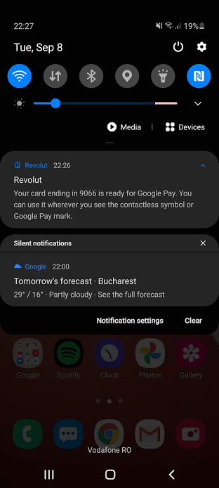 google pay revolut românia