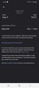 notificare google pay