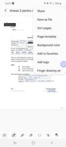 samsung notes s pen