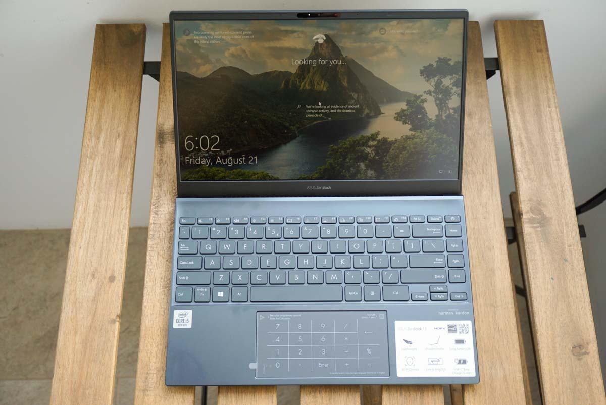 display zenbook ux325j 2020