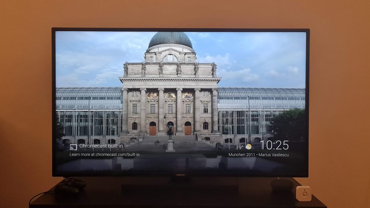 tv horizon chromecast built in