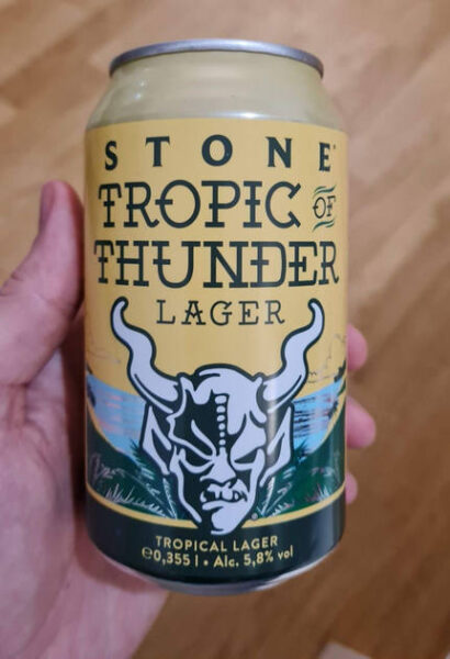 stone tropic of the thunder lager
